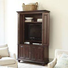 Slim Chadwick Media Armoire - Stylish Home Decorating Designs Diy Bedroom Decor, Bedroom Furniture, Furniture Design, Home Decor, Design Bedroom, Bedroom Ideas, Asian Furniture, Bed Design, Tv Armoire