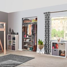 Organize your dorm room with 3 must-have #storage items selected by @BarbaraReich, professional organizer and mom of college kids. Read our blog for her expert tips.   #BacktoCollege  #CollegeLife #Organization Portable Wardrobe, Portable Closet, Wardrobe Storage, Closet Storage, Armoire Wardrobe, Dorm Storage, Dorm Room Organization, Kids Storage, Cube Storage
