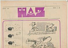 Romanian communist era humor, caricature & satirical magazine HAZ, 1987 March Satire, Caricature, Magazine, Humor, Humour, Caricatures, Magazines, Funny Photos, Funny Humor