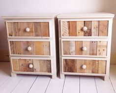 Modern Rustic Bedside Table/3 Drawer Chest by RemyDicksonDesigns on Etsy https://www.etsy.com/listing/228120259/modern-rustic-bedside-table3-drawer