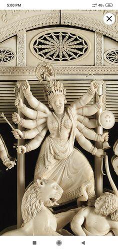 Festival Quotes, Shiva Wallpaper, Durga Goddess, Hinduism, Picture Quotes, Festivals, Badass, Marble, Sculpture