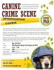 CANINE Ph.D. DOG TRAINING - Seminars and Worshops - Atlanta, GA