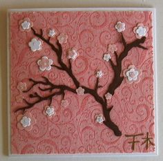 cherry blossom paper girls room   As well as tehnew Spellbinders Blue Edge also took delivery of some ...