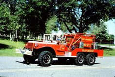1942 Dodge 4x4 RARE Bush attack Fire Truck...