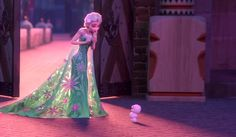 "Elsa and a Snowgie. Too cute a tweet from Baymax ""I plan to audition to play this by then Snowgie in the #Frozen sequel"" from Twitter."