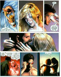 Try again ? Scott and Emma X-men