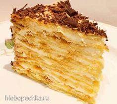 """Торт """"Наполеон"""" (по семейному рецепту)"""
