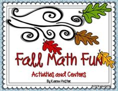 Fall Math Fun from Little Smarticle Particles on TeachersNotebook.com -  (46 pages)  - I created these activities so that my students could practice current skills and concepts, yet still have fun and enjoy the season. There are lots of differentiated activities included in this set that cover the following skills Place Value, Computation,