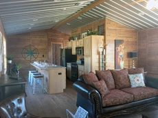 Discount Trees of Brenham :: Islander Shed To Tiny House, Modern Tiny House, Tiny House Cabin, Tiny House Living, Tiny House Design, Small House Plans, Small Cabin Kitchens, Portable Cabins, Shed Cabin