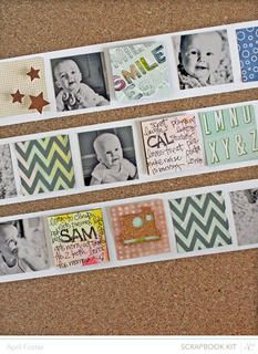 Smile *Spencer's scrapbook kit only* by April Foster at Studio Calico
