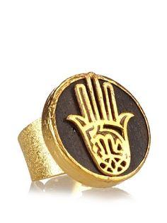 65% OFF Grand Bazaar Hamsa Ring