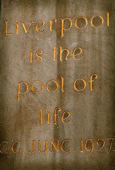 """""""Liverpool is the pool of life"""" - Carl Jung, 1927 Liverpool Life, Liverpool History, Liverpool England, Uk Trip, Genius Quotes, Carl Jung, London Travel, The Good Old Days, Ancestry"""