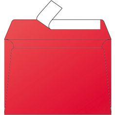 Enveloppe rouge groseille C6 Pollen Clairefontaine 120 gr 5 unités #envelopperouge #enveloppecouleur #enveloppepollen #enveloppefairepart