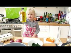 ▶ Jessie Making Frittata Recipe From Sainsbury's Feed Your Family for £50 - YouTube