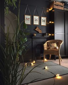 Dark and moody interiors are so on trend right now. Swap your white walls for dark, and create a gorgeously moody-yet-luxe vibe in your home. Interior Design Tips, Interior Styling, Interior Inspiration, Interior Decorating, Interior Office, Interior Livingroom, Cafe Interior, Apartment Interior, Scandinavian Interior