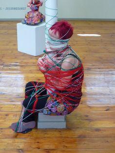 Before Rubber Ever After Ever After, Textile Art, Fiber Art, Textiles, Summer Dresses, Inspiration, Painting, Dance, Sculpture