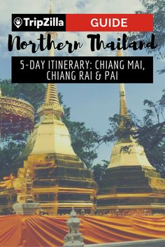 The REALLY good adventures are in the north of Thailand. Check out this 5-day itinerary for Chiang Mai, Chiang Rai and Pai.