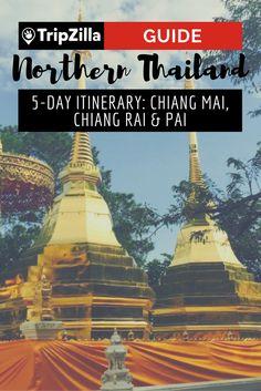 Northern Thailand 5 Day Itinerary: Chiang Mai, Chiang Rai & Pai : The REALLY good adventures are in the north of Thailand. Check out this 5 day itinerary for Chiang Mai, Chiang Rai and Pai. Pai Thailand, Visit Thailand, Northern Thailand, Koh Phangan, Thailand Travel Advice, Bangkok Travel Guide, Backpacking Thailand, Chiang Mai, Pattaya