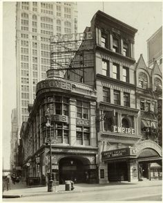 The Empire Theatre, 1430 Broadway, NYC