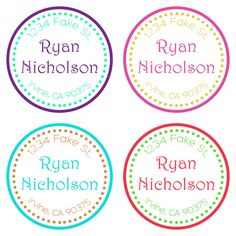 Items similar to Return address labels-address labels -address stickers - return address stickers-stickers-labels-custom return address stickers-round label on Etsy Return Address Stickers, Return Address Labels, Round Labels, Custom Labels, Bullet Journal, Handmade Gifts, Etsy, Kid Craft Gifts, Circle Labels
