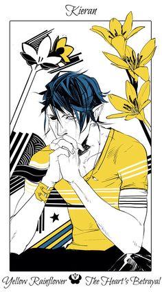 Kieran | Cassandra Jean's Flower Cards | The Dark Artifices