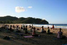 Beach Yoga Bliss