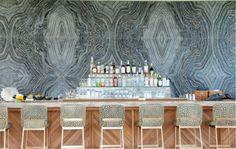 Hotel Viceroy Anguilla - amazing wall