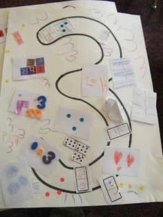 Inspired by Kindergarten: Numbers 1-10. . . the next step