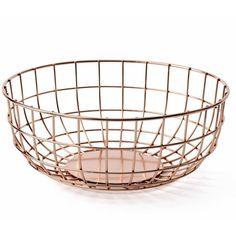 Menu Norm Wire Bowl Copper - Indish Design Shop  - 1