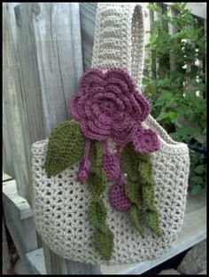 ♥♥ crocheted purse
