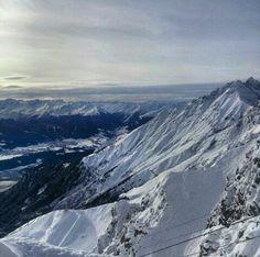 Mountain, snow,  beautiful places