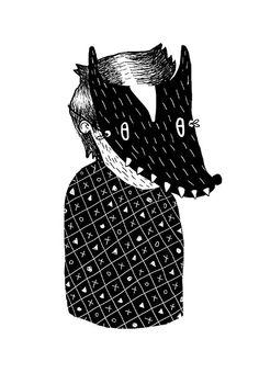 Laura Morales Photo - Illustration Illustration Photo, Zine, Black And White, Portrait, Photography, Photograph, Black White, Fotografie, Portrait Illustration