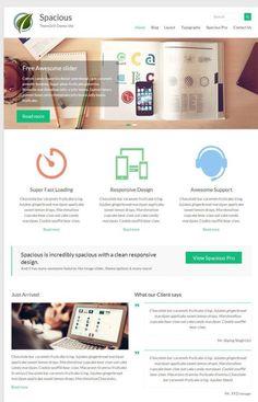 spacious free WordPress theme