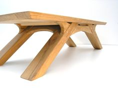 Arch Leg Coffee Table - Bespoke oak coffee table, suitable for use indoors and outdoors.