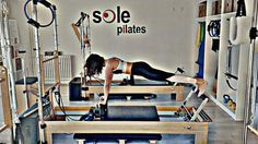 reformer pilates advance front support