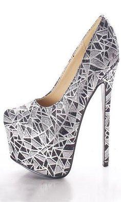 Oferta: 43€. Comprar Ofertas de Onlymaker-zapatos de tacon alto y de aguja para mujer Cruz plataforma alta sensual y de moda plata EU36 barato. ¡Mira las ofertas!