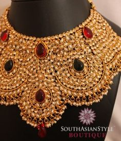traditional indian jewellery  see more inspiration @ http://www.modernrani.com