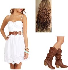 Perfect for a square dance^_^ (with REAL boots...)