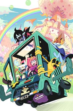 "Hell yeah, hell yeah! ""Adventure Time #46"" of the Variant..."