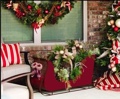 indoor or outdoor sold at sams club christmas sleighs