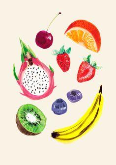 Fruits - Jessica Singh - illustrator