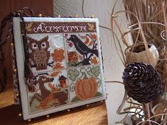 Autumn Foursome by Prairie Schooler from The Craft Room