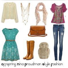 Nina Proudman Offspring Fashion Style