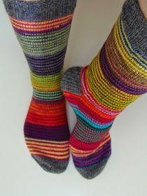 Lankaterapiaa: Ylläripylläri Socks, Crafts, Fashion, Stockings, Moda, Manualidades, Fashion Styles, Sock, Handmade Crafts