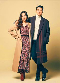 Crash Landing on You Son Ye-jin Inspired Dress 006 – So Not Size Zero Korean Photography, Couple Photography Poses, Denim Wedding Dresses, The Last Princess, Korean Winter, Fashion Model Poses, Netflix, Size Zero, Korean Couple