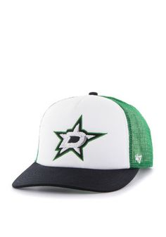 646d270039b  47 Dallas Stars Green Glimmer Adjustable Hat Reebok
