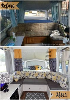Pretty Picture of Creative Pop Up Camper Organization Makeover Ideas On A Budget. A camper stipulates a means to eat inside during inclement weather too. It's very popular for individuals to want to have a camper in which they may g.