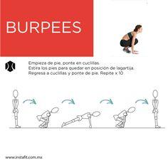 Un ejercicio para trabajar todo el cuerpo, además de servir como ejercicio cardiovascular, checa la rutina completa en el blog de InstaFit.