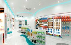 Φαρμακείο Μακρή Έλενα (Γλυφάδα) Shoe Store Design, Pharmacy Store, Pharmacy Design, Visual Merchandising, Innovation, Scenery, Swag, Interiors, City