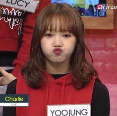 Fandom Kpop, Choi Yoojung, Ioi, Meme Faces, Yugyeom, Korean Singer, Baekhyun, Memes, My Girl